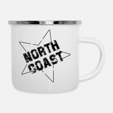 North Sea north coast - Enamel Mug