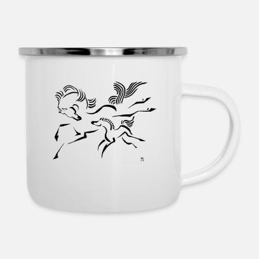 Foal Horse and Foal - Camper Mug