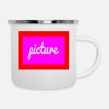 Picture picture - Enamel Mug