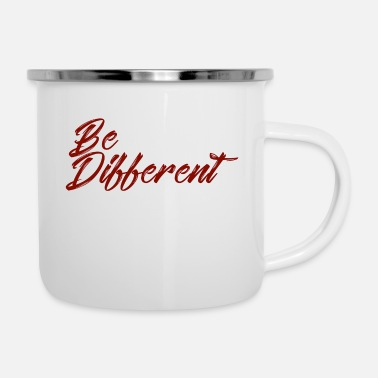 Different be different - Enamel Mug