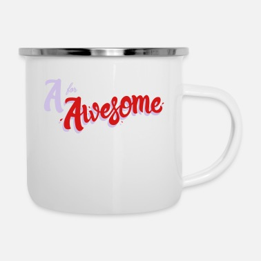 Awesome A for Awesome - Camper Mug