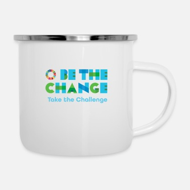 Change Be the Change - Enamel Mug