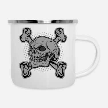 Bone Bone Of - Enamel Mug
