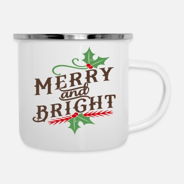 Bright Merry and Bright - Camper Mug
