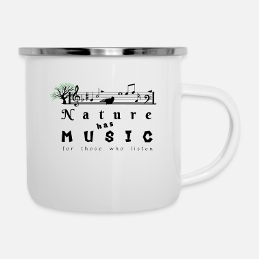 Natural Nature's music - Enamel Mug