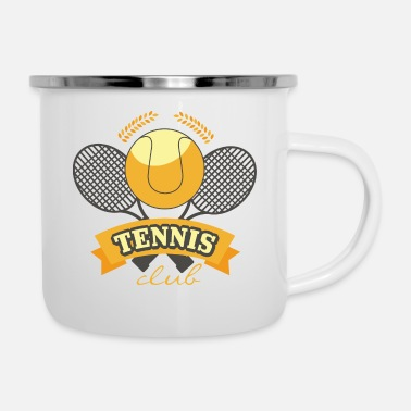 Sports Sport Racket - Enamel Mug