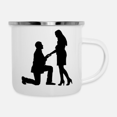 Couples couple - Enamel Mug