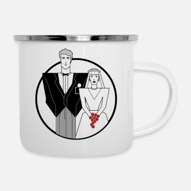 Wedding Day wedding day - Enamel Mug