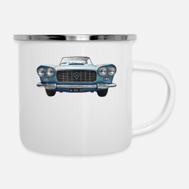 Automobile Old Automobile - Enamel Mug