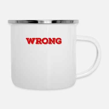 Funny I May Be Wrong But I Highly Doubt It I'm Inspector - Enamel Mug