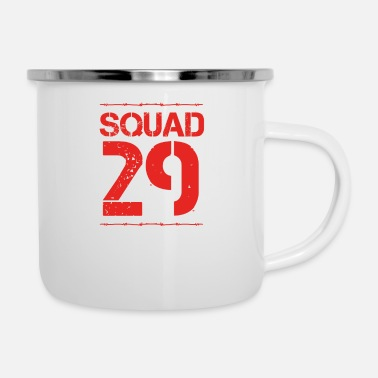 Number Team Verein Squad Party Member Crew jga malle 29 - Enamel Mug