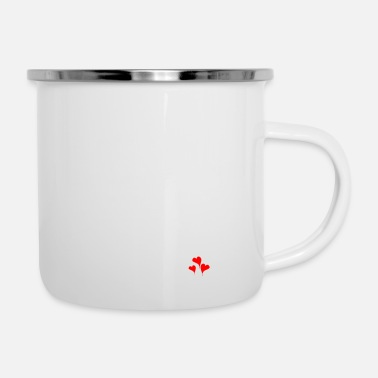 Trance Grateful Heart - Enamel Mug