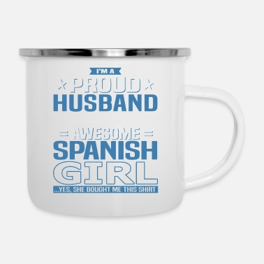 Spanish Spanish Husband - Enamel Mug