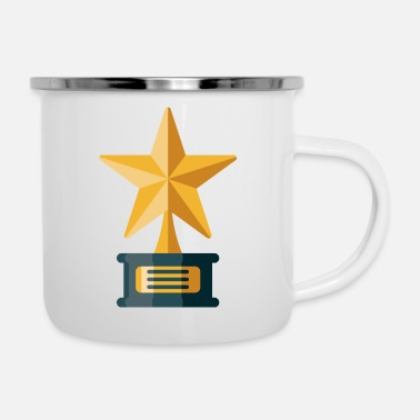 Award Awards Trophy - Enamel Mug