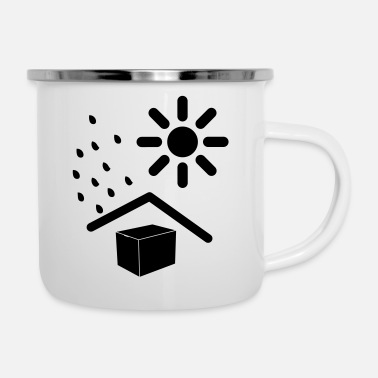 Weather weathered - Enamel Mug
