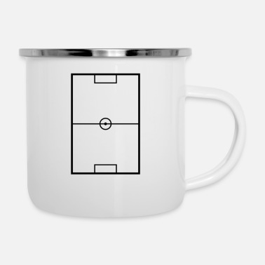 Shop Schwarz Enamel Mugs Online Spreadshirt
