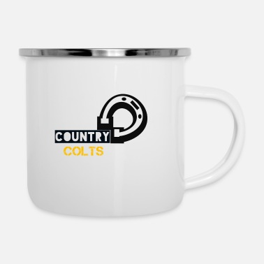 Country Country Colts - Enamel Mug