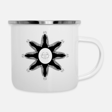 Angel star - ART - Enamel Mug