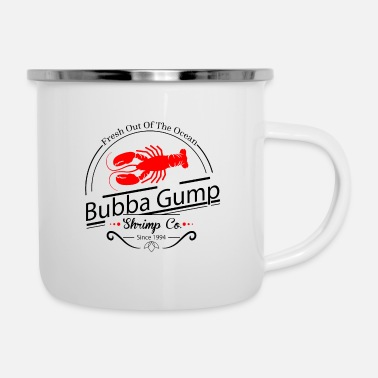 Gump bubba gump shrimp co - Enamel Mug
