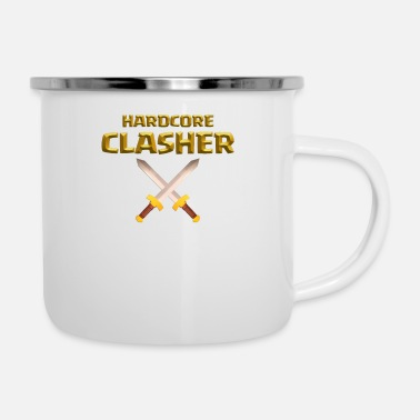 Clash Of Clans Hardcore Clasher Clash of Clans Players and Fans - Camper Mug