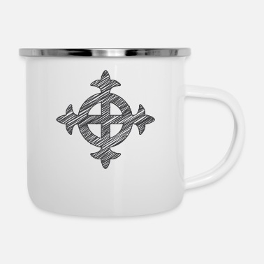 Celtic Celtic Cross - Camper Mug