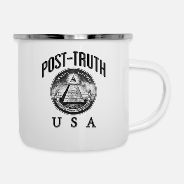Postmark Post Truth 1 - Enamel Mug