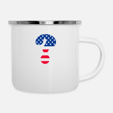 Mark Something Flag Question Mark T-shirt - Camper Mug