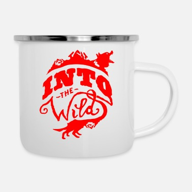 Wild Into The Wild - Enamel Mug