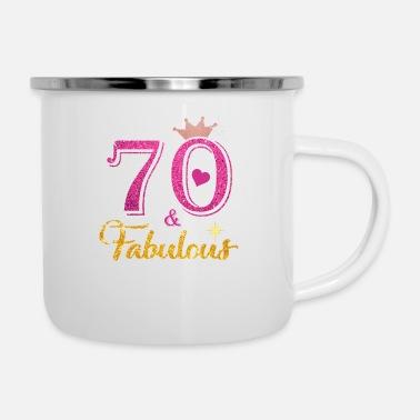 70 Fabulous Queen Shirt 70th Birthday Gifts