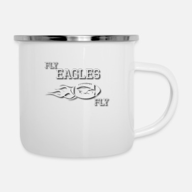 Fly Fly Eagles FLY - Enamel Mug