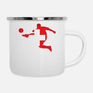 Switzerland Soccer Switzerland - Camper Mug