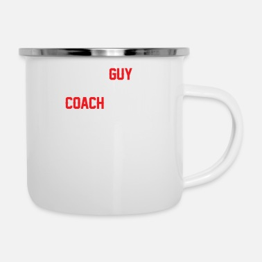 Im Not Perfect Just Awesome I'm The Guy Your Coach Warned You About - Enamel Mug
