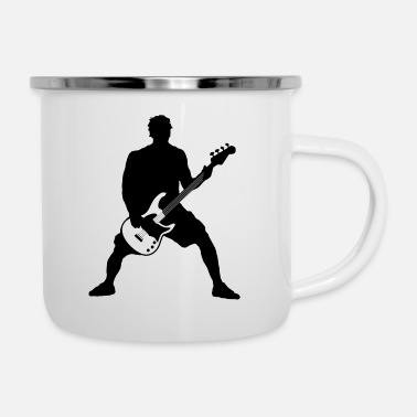 Bass Player bass player - Enamel Mug