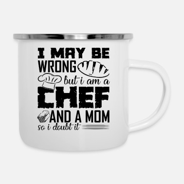 Chef Chef Mom - Enamel Mug