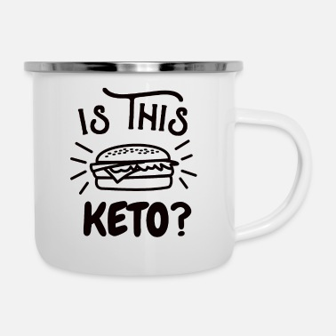 Oil burger keto meat eater love fat diet slimming gift - Camper Mug