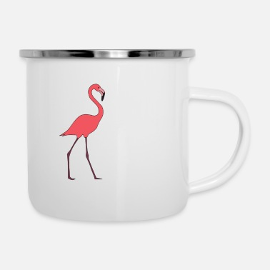 Stork Let your flamingo side fly out to the air of - Camper Mug