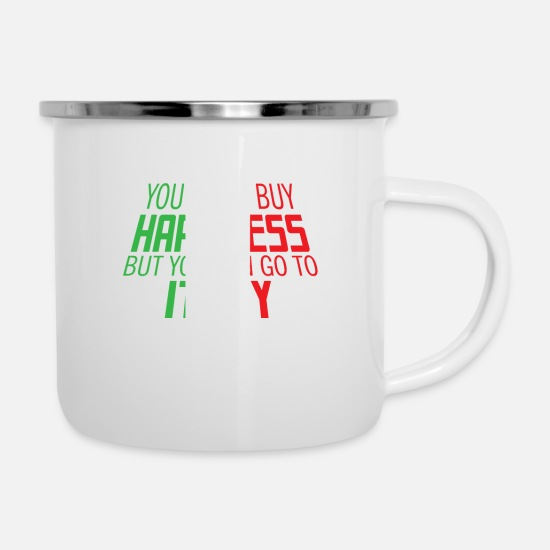 Birthday Mugs & Drinkware - Italy - Enamel Mug white