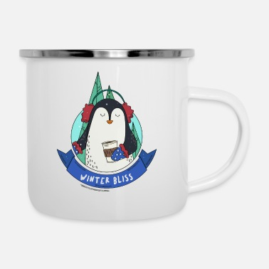 Bliss Winter Bliss | Holiday Penguin - Camper Mug
