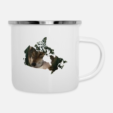 Hunting Perfect Design for all Canada,wolf,forest lover - Camper Mug