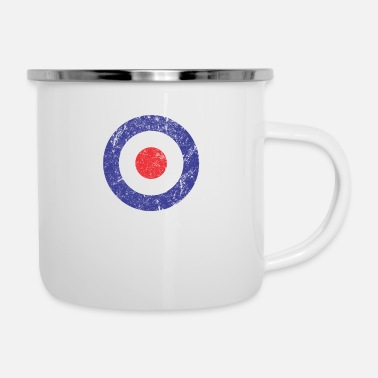 Royal Airforce Royal Air Force World War II Spitfire Logo Retro - Camper Mug