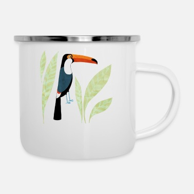 Bright Tropical Toucan Bird - Camper Mug