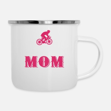Cycling Cycling Mom Biking Mom Mother Gift Idea - Camper Mug