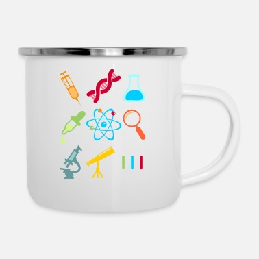 Icon Physik DNA Element Atom E=mc² Science Gift - Camper Mug