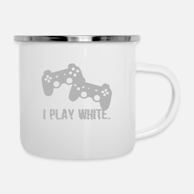 Internet I Play White Game Gamer Gaming Geschenk - Camper Mug