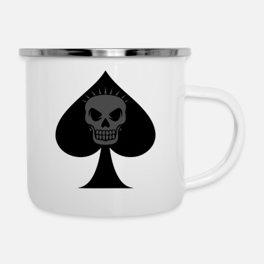 Card Game card game - Enamel Mug