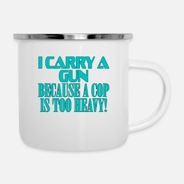 Cop Show your funny and humorous side with this I - Camper Mug