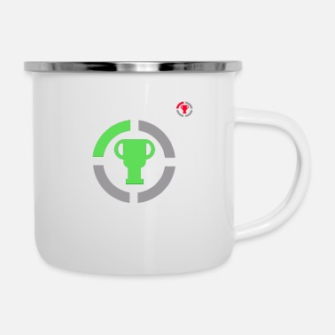 Game Game Theory Official Logo Concept - Gamer Gifts - Enamel Mug