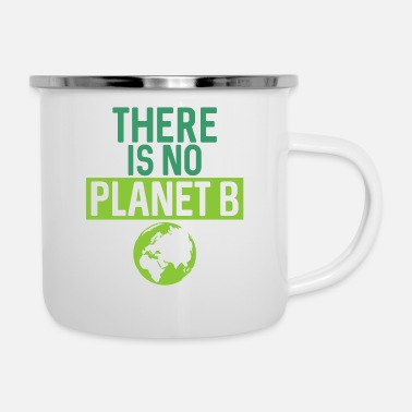 Gas There Is No Planet B Support Green - Camper Mug