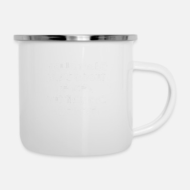 Offence Very Funny Pun Joke I could make jokes about - Enamel Mug