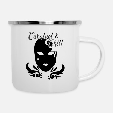Staff Carnival Carnival Mask Costume Spirit Celebration - Camper Mug